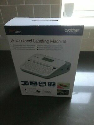 Brother P-touch D400 Label Printer Professional Labelling Machine. Unwanted Gift • 25£