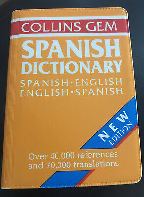 Collins Gem Spanish Pocket Dictionary • 1.50£