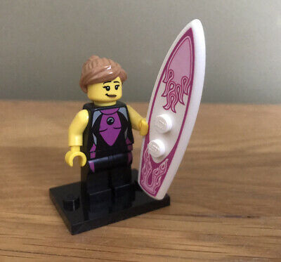 Lego Collectable Minifigures Series 4 8804 Surfer Girl Minifigure • 3.99£