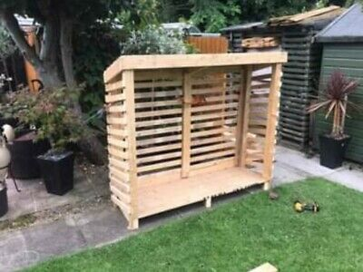 Wooden Log Store • 100£