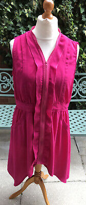 Collection London High Low Hot Pink Dress Size 16 • 2.99£
