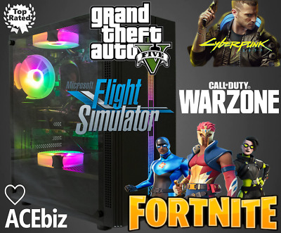 $ CDN1135.55 • Buy Quad Core I7 RGB Gaming PC Computer Oculus VR Ready WiFi GTX 1080Ti RTX 2070 IG3