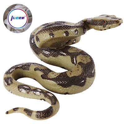 Realistic Fake Rubber Snake Scary Prank Gag Prop Tricks Halloween Party Toy Gift • 5.04£