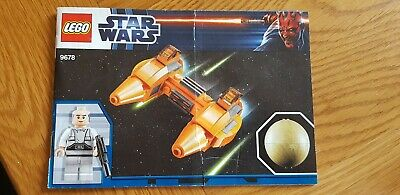 LEGO Star Wars Planets 9678 Twin-Pod Cloud Car & Bespin |Instruction Manual Only • 0.99£