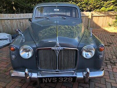Rover P4 100 1961 Solid Car 58,000 Miles • 3,250£