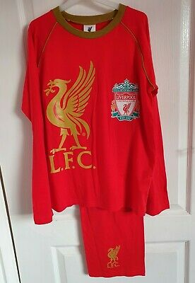 Official Liverpool Football Pyjamas Size 11-12 Years • 3.99£