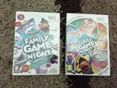 Wii Kids Games 3+ Family Game Night 1 & 2 Wii Board Games, Childrens Wii Games  • 7.50£