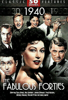£32.96 • Buy Fabulous 1940'S Forties 50 FILMS DVD NEW SEALED His Girl Friday My Man Godfrey
