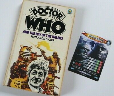 DOCTOR WHO AND THE DAY OF THE DALEKS -Target Paperback Novel Book (1978 Reprint) • 0.01£
