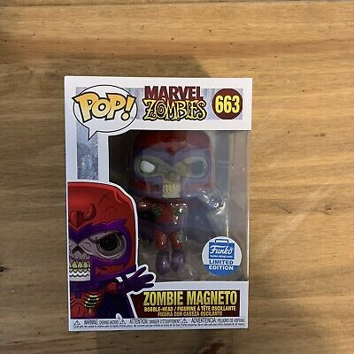 Marvel Zombies Zombie Magneto 663 Funko Shop Exclusive Limited Edition Pop Vinyl • 20£
