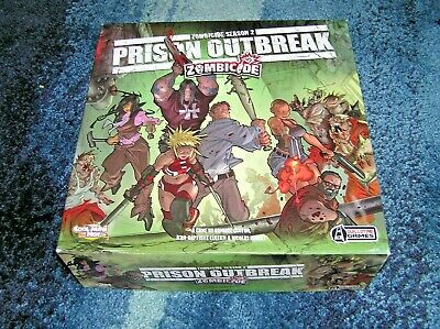 Zombicide: Season 2 - Prison Outbreak. Unused With Sealed Contents. Free P&P • 69.99£