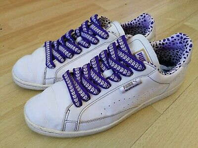 Puma Yo MTV Raps Clyde Promo Black Purple White Size UK8/US9 (Sample)  • 0.99£