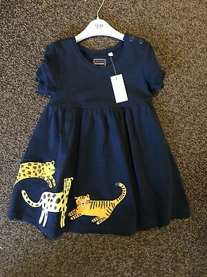 Baby Girl Debenhams Navy Dress 12-18 Months Bluezoo New With Tags Gift • 1.20£