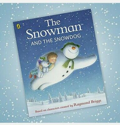 The Snowman And The Snowdog By Raymond Briggs - Classic Book • 7.95£