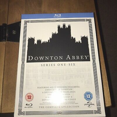 Downton Abbey: The Complete Collection (Box Set) [Blu-ray] New And Sealed • 22£