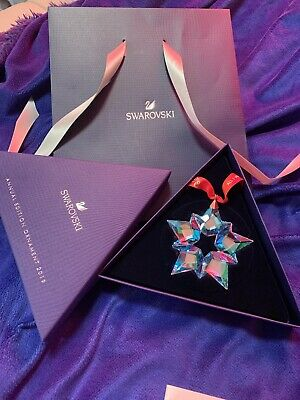 Swarovski Snowflake 25th Anniversary Ornament Christmas Star Mariah Carey New • 21£