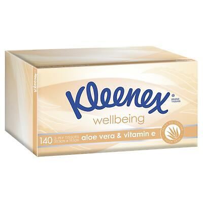 AU4.03 • Buy Kleenex Wellbeing Aloe Vera & Vitamin E Tissues 140
