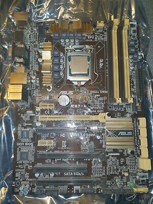 BUNDLE - ASUS Z87-A With Intel I5-4670K CPU OC 4.2Ghz (Stable) • 70£