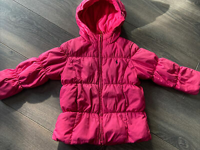 Girls Ralph Lauren Puffer Coat Age 4 • 10£