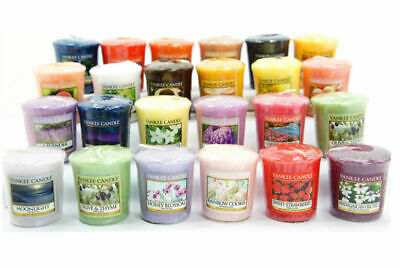 Yankee Candle Mix Bundle 5 X Votive Samplers - FAST & FREE POST • 8.95£