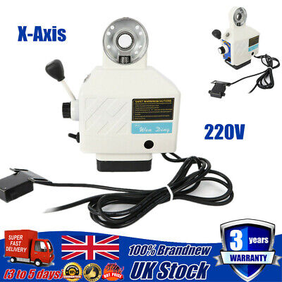 X-Axis Power Feed Table Milling Fit Bridgeport Milling Powerfeed Power Feeder • 111.72£
