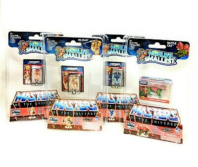 $37.99 • Buy 4x Pack: MASTERS OF THE UNIVERSE MICRO ACTION FIGURES  By Worlds Smallest |2020|