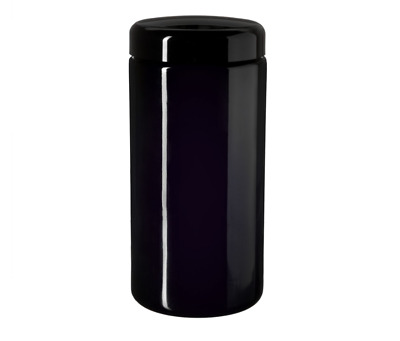 Miron Glass Wide Neck Jar 1 Litre With Lid Violet Glass X1 (Free UK Shipping) • 9.99£