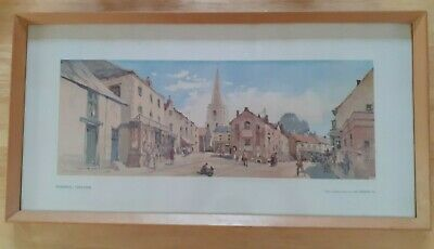 Railway Carriage Print,  Pickering Yorkshire, Framed. Jack Merriot • 18.99£