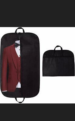 3xSTEVOY 40  Suit Carrier Bag, Clothes Covers With Handles For Travel, Foldover • 9.99£