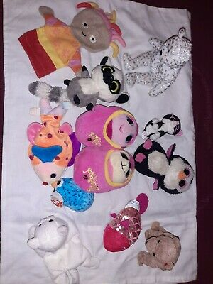 Soft Toy Bundle Including Beanies, Podlings & Upsy Daisy Puppet • 9.99£