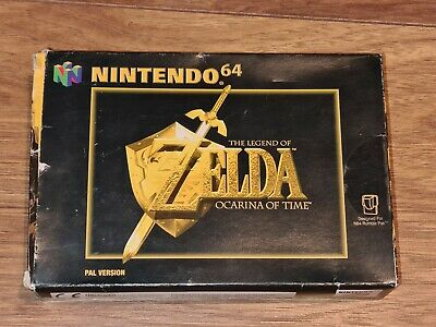 The Legend Of Zelda Ocarina Of Time Nintendo 64 N64 Boxed Manual Tested • 32.99£