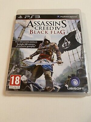 PS2 Assassins Creed Black Flag Exclusive Edition • 4.99£