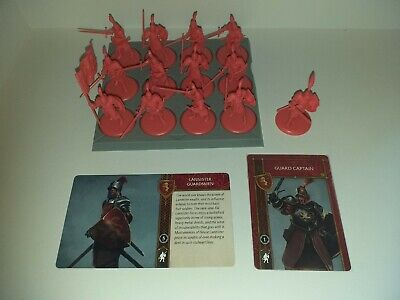 Lannister Guardsmen With Guard Captain And Cards A Song Of Ice And Fire #2 • 18.50£