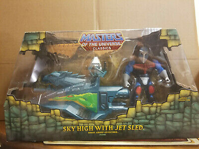 $100 • Buy Mattel Masters Of The Universe Classics Sky High With Jet Sled New & Unopened