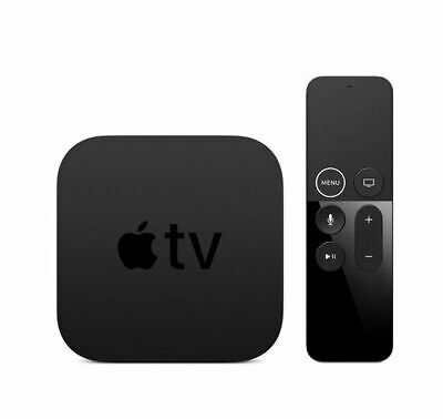 AU320.13 • Buy Apple TV 4K 32GB- Apple TV 4K With Siri Remote, Power Cord, Lightning To USB Cab