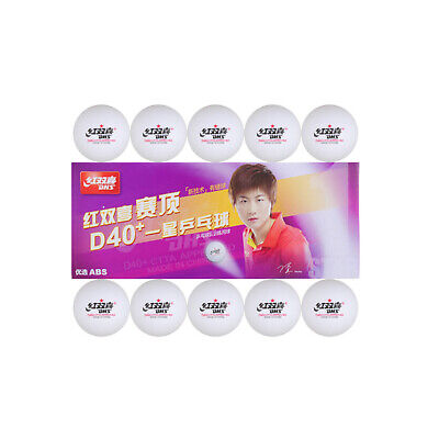 AU15.99 • Buy 10x DHS 1-Star D40+ Table Tennis ABS Plastic Balls PingPong Balls ITTF Approved