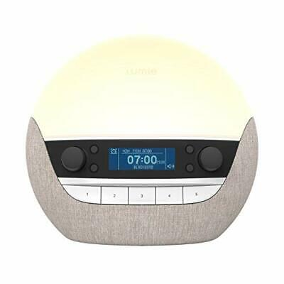 Lumie Bodyclock Luxe 700FM - Wake-Up Light With FM Radio, Bluetooth Speakers & • 216.65£