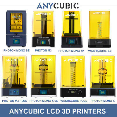 AU369 • Buy ANYCUBIC LCD Resin 3D Printer Photon Mono / 4K Mono X Fast Print Wash & Cure 2.0