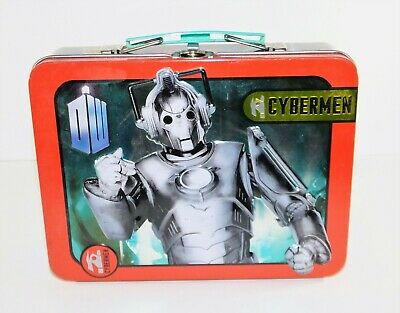 £15.95 • Buy Hard To Find Doctor Dr Who Tin Metal Lunch Box Invasion Cyberman Cybermen