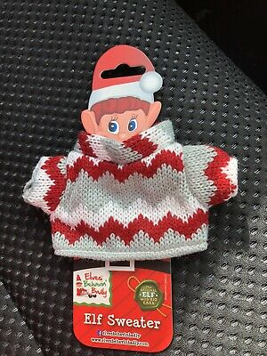 AU9.99 • Buy Brand New Elf On The Shelf Red And White Jumper / Sweater