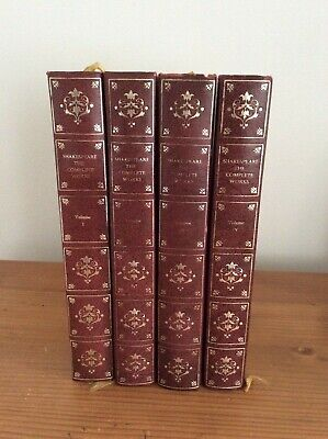 Shakespeare, The Complete Works.  Four Volumes. Heron Books • 6.99£