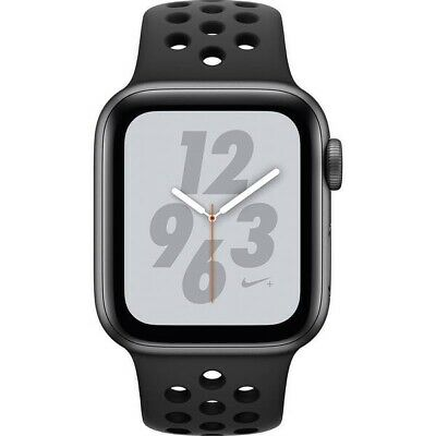 $ CDN303.92 • Buy Apple Watch Series 4 Nike+ 44 Mm Space Gray With LTE Aluminum Case UNLOCKED