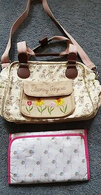 Pink Lining Yummy Mummy Blooming Gorgeous Baby Changing Bag • 3.10£