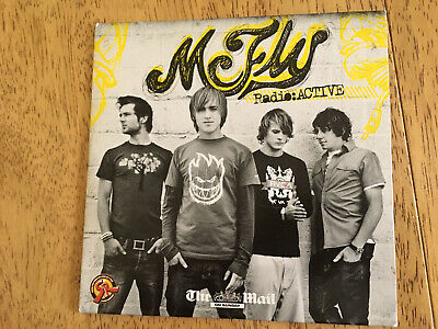 McFly -Radioactive Daily Mail Promo UK CD Album • 1£