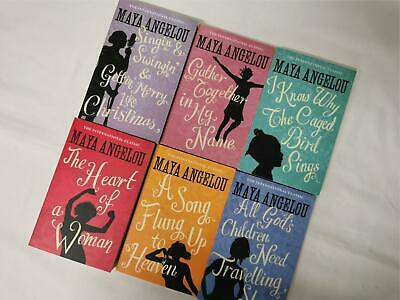 £39.99 • Buy Maya Angelou: 6 Book Collection Set - I Know Why The Caged Bird Sings