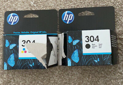 Hp 304 Ink Cartridges Black And Colour • 9.60£