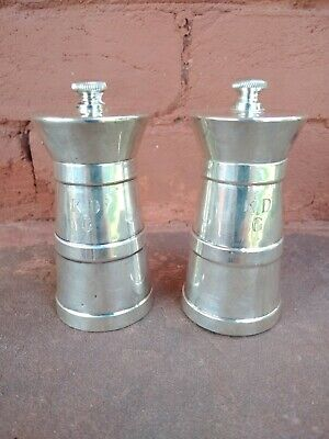 Beautiful Vintage Early Pair Tiffany & Co. Sterling Silver Pepper Mill Grinders • 185.52£
