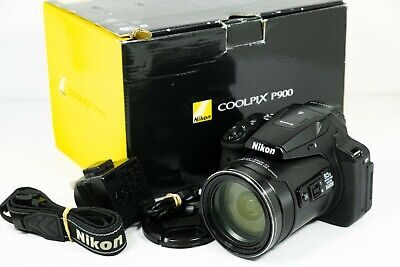Nikon COOLPIX P900 16.0MP Digital Camera - Huge 83x Zoom Lens!  • 419£