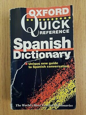 Oxford Spanish English Dictionary  • 0.99£