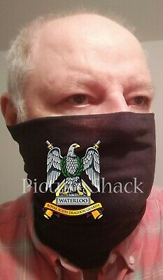 Royal Scots Dragoon Guards Cap Badge Printed On Bumpaa Antiviral Snood. Army • 13.49£